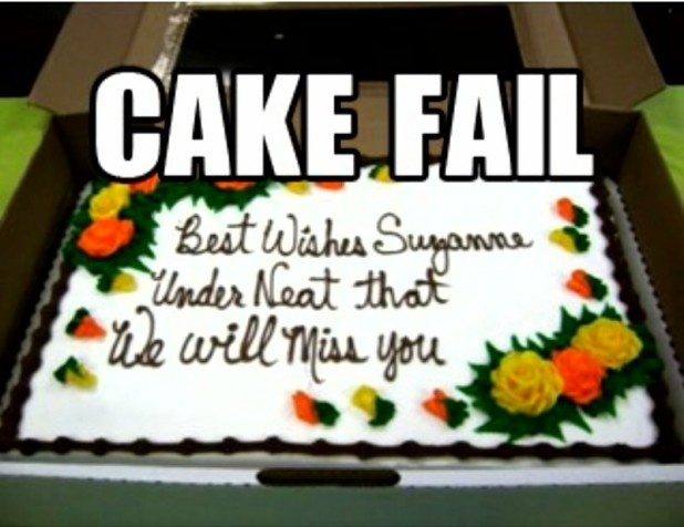 Birthday Cake Pictures With Messages : 17 Best images about Treats: Funny Cakes on Pinterest ...