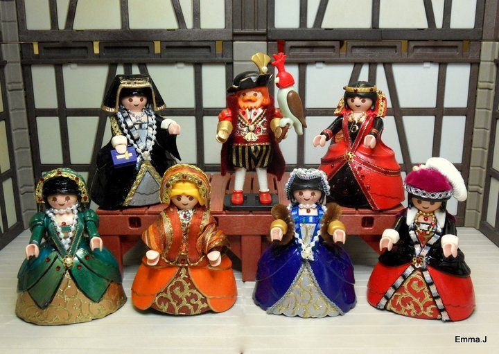 Henry VIII and his six wives