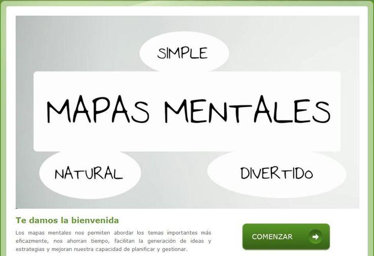 Mapas Mentales - Sensacional Curso Interactivo   #Sitio #Educación