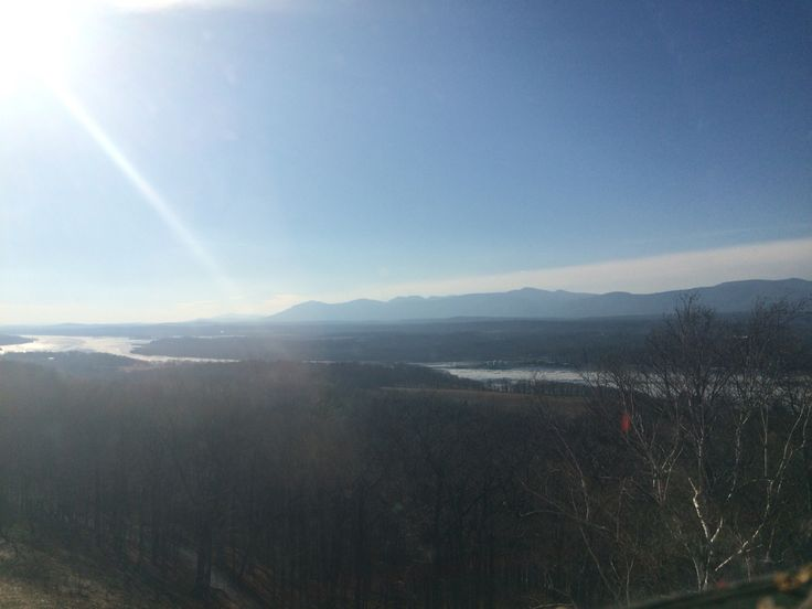 It's another lovely day in the Hudson river valley!