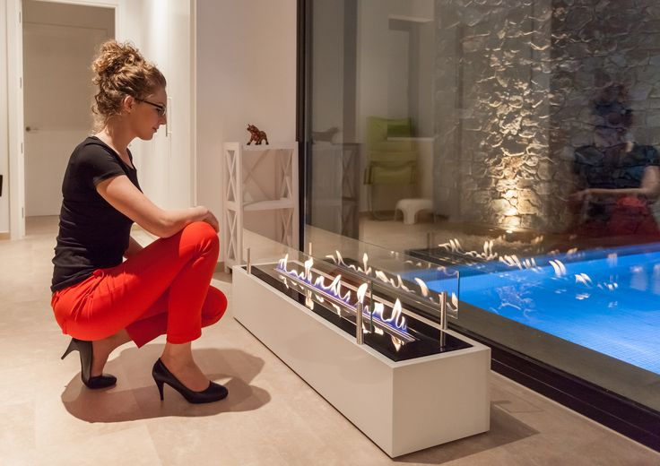 With 6 stage flame size regulation, sophisticated safety sensors, WiFi and beautiful, natural flames, Fire Line Automatic 3 has everything you need to make this the best year ever.  www.planikafires.com www.facebook.com/planikafire