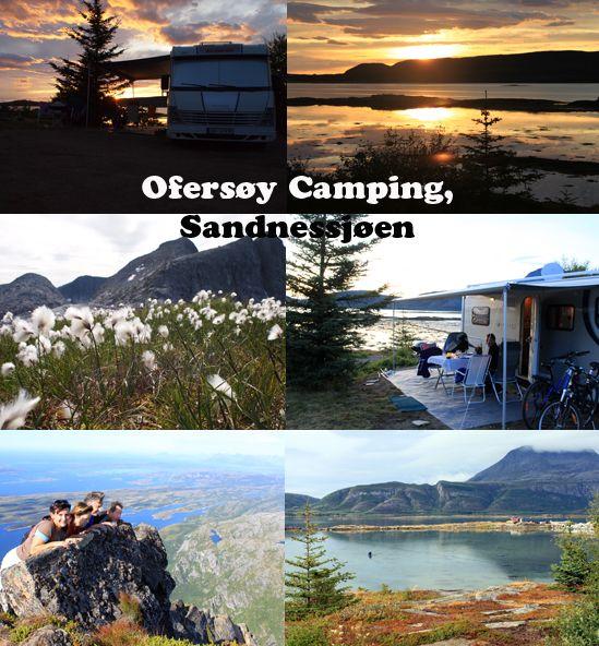 Ofersøy Camping, Sandnessjøen, Helgelandskysten, Norway