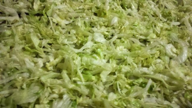 Dehydrating lettuce and making green powder and how to use the green powder in recipes.