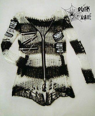 Visual Kei Punk Gothic lolita Japan fashion Sweater
