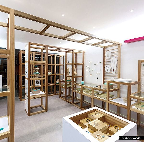I Love The Design Of This Jewellery Shop MICA Store By Savvy Studio