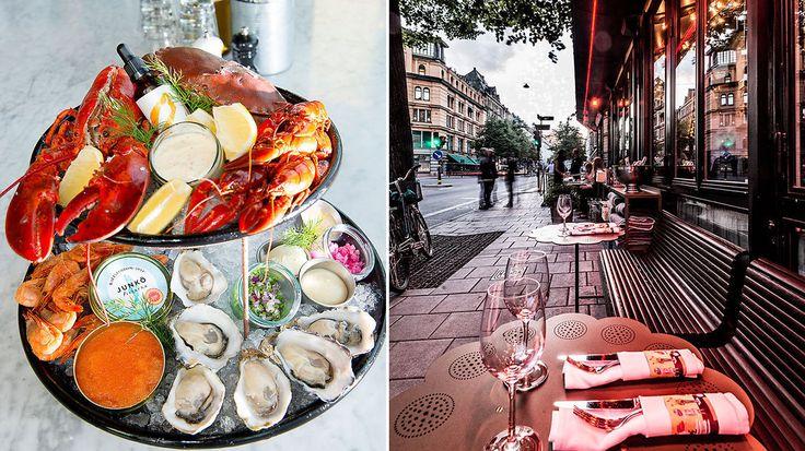 Om du er mest opptatt av maten eller atmosfæren spiller liten rolle. I Stockholm byr de fleste steder på begge deler.