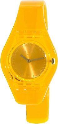 ﹩44.43. Swatch Women's Originals LO101HA Orange Plastic Swiss Quartz Watch    Catalog - 1681940570, Gender - Women's, Display - Analog Display, Movement - Swiss Quartz, Style - Fashion Watches, Diameter - 25mm, EAN - 7610522122949, UPC - 7610522122949