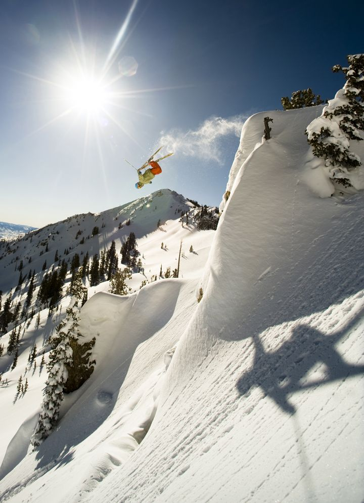 Daily Pow: shot proves it all comes down to being in the right place, right time.