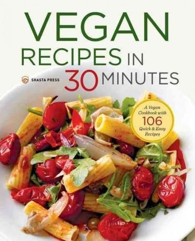 Create delicious, filling vegan meals in under 30 minutes! Take the stress out of making hearty vegan meals with the easy recipes in Vegan Recipes in 30 Minutes. This handy kitchen guide is perfect fo