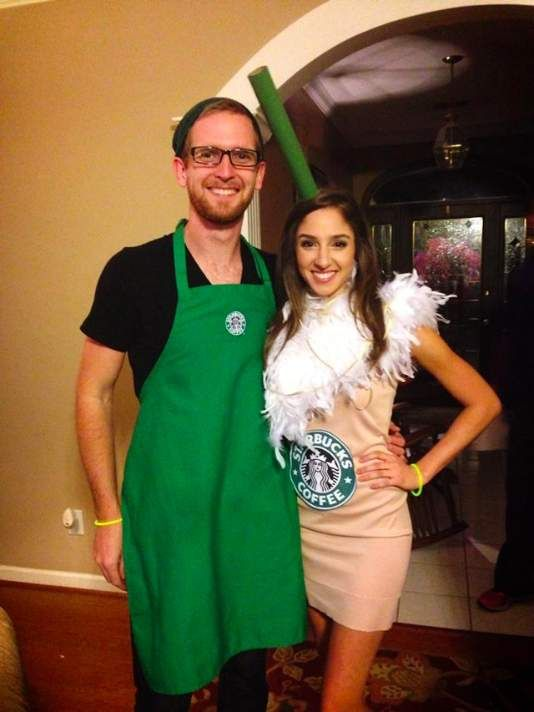 Starbucks Unique Couples Costumes