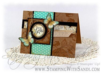 Stampin Up Backyard Basics card by Sandi @ www.stampingwithsandi.com
