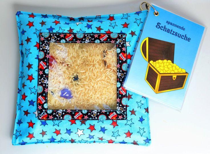 Video-Tutorial/Anleitung für das beliebte Kinderspielzeug I-Spy-Bag mit Download von Deckblatt und Spielanleitung | Lebemaja