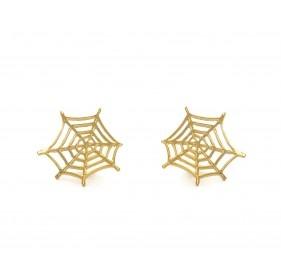 Earrings: Charlotte Olympia Spider Web, Earrings Charlotteolympia, Earrings Charlotte Olympia, Spiderweb Earrings, Jewelry, Jewels, Accessories, Olympia Spiderweb, Olympia Earrings