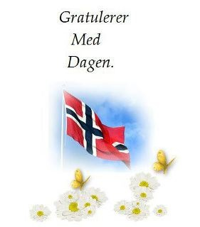 """Gratulerer Med Dagen  """"congratulations with the day""""  This is how you say Happy Birthday in Norwegian."""