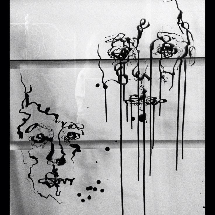Sketches on glass Aleksandra Jarocka