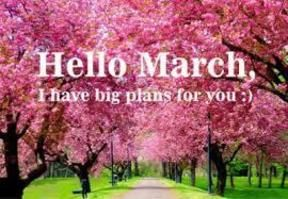 Do you have big #plans for #March? If so what are they?www.gospelandgumbo.com