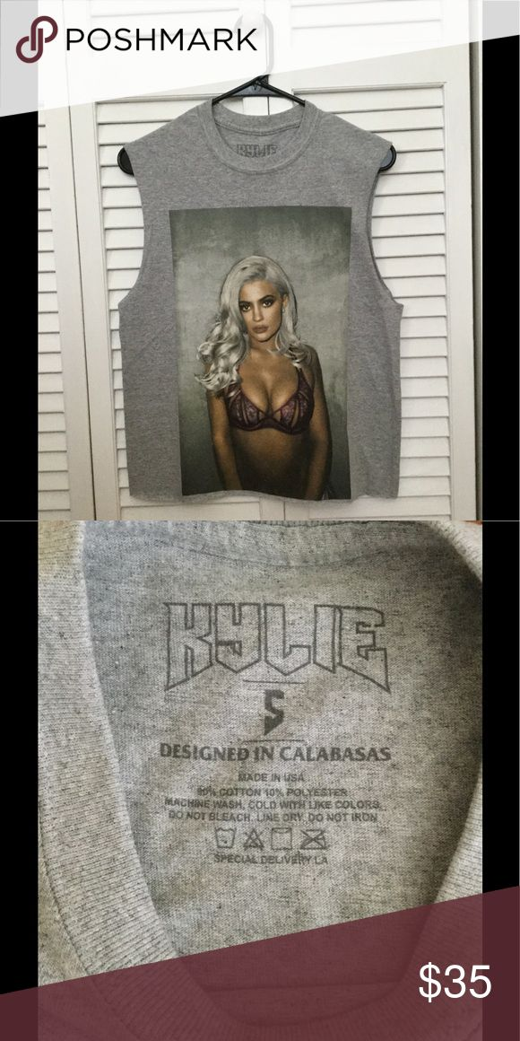 Kylie Jenner Original Muscle Tank Kylie Jenner Muscle Tank/ Size S/ Originally seen on the Kylie Merch Shop Kylie Cosmetics Tops Muscle Tees