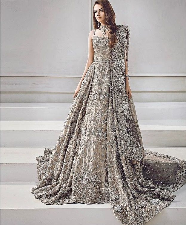 Over the top Pakistani wedding outfit #pakistani