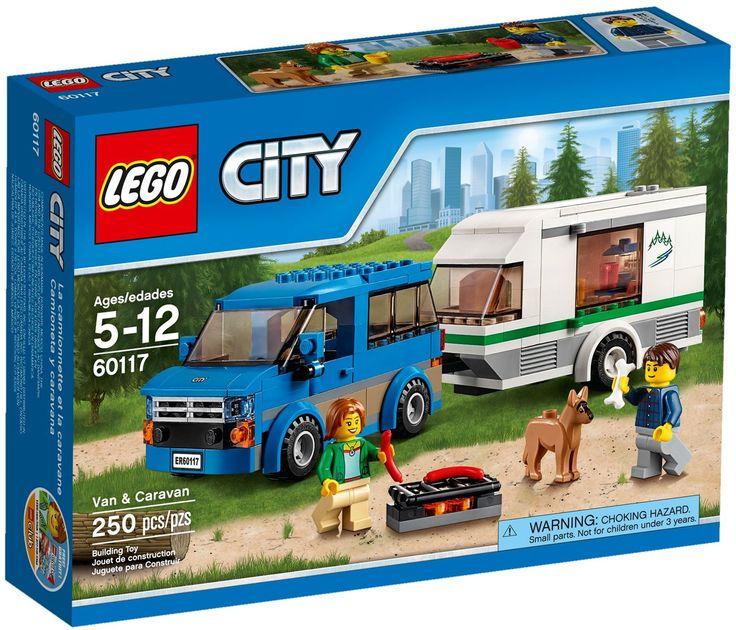 Comparez les prix du LEGO City 60117 avant de l'acheter ! Infos, description, images, vidéos et notices du LEGO 60117 La camionnette et sa caravane sur Avenue de la brique