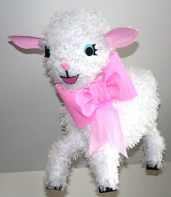 Easter Lamb Pinata