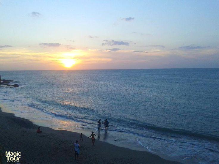 Majestuoso atardecer en Punta Gallinas, La Guajira #Beach #Landscapes #Sunset #Adventures #Cultures
