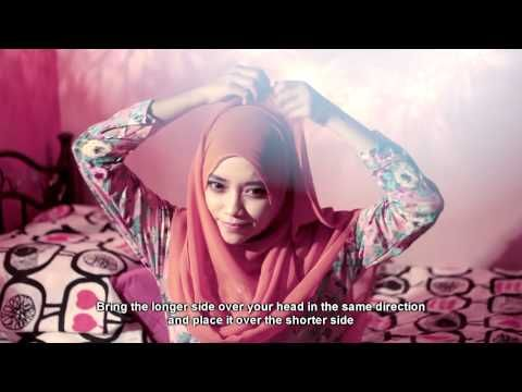 How to Wear Headscarf in Less Than 2 Minutes - YouTube