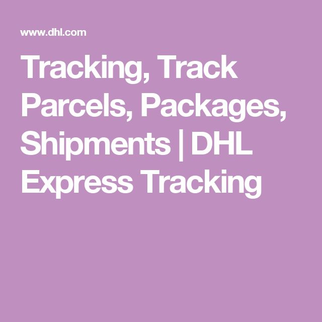 dhl tracking app for iphone