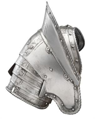 A COMPOSITE PAULDRON FOR THE RIGHT SHOULDER, ETCHED IN THE `PISAN` FASHION, GERMAN AND ITALIAN, CIRCA 1570