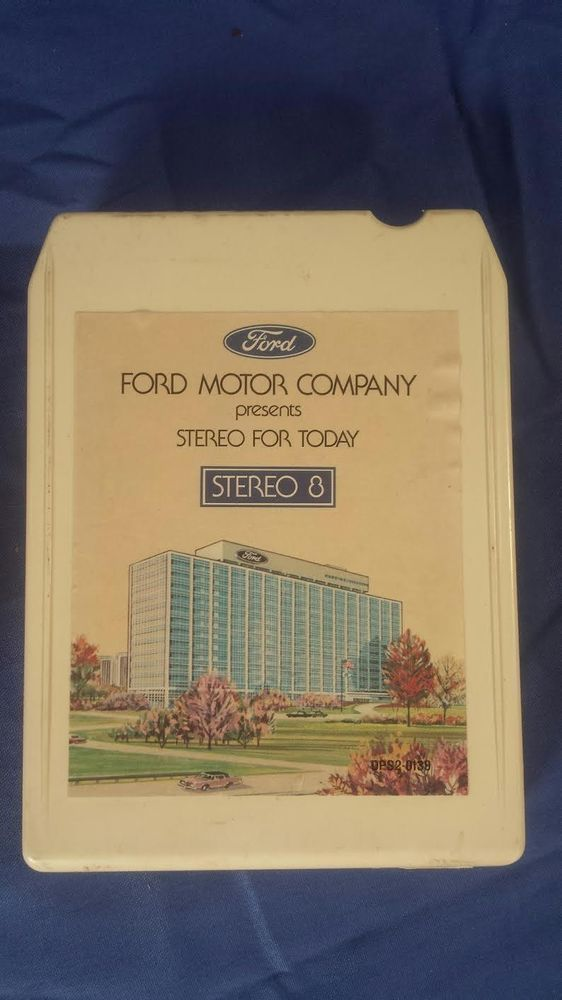 8 Track Ford Motor Company Soundtrack with Box