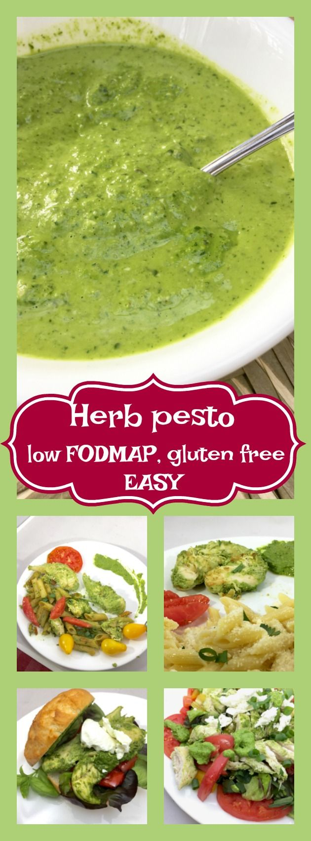 Healthy herby pesto with chicken three ways #familyrecipes