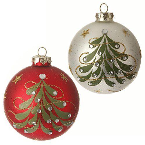 Raz imports sageberry theme quot glittered gem christmas