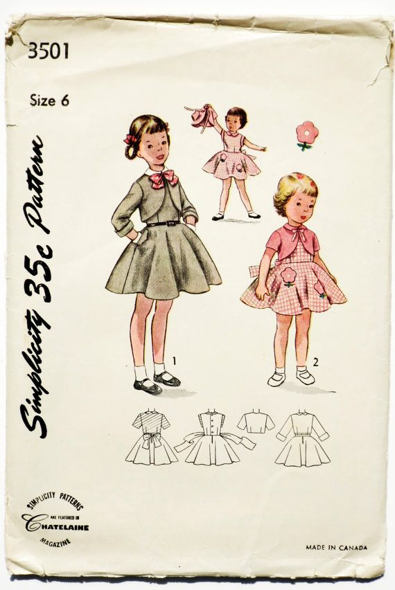 1000 Images About 1950 Simplicity Patterns On Pinterest