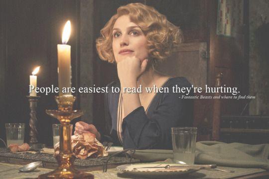 Fantastic Beasts - Queenie´s quote