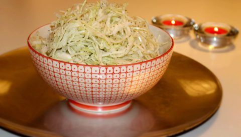 Salatet malfof- Libanesisk vitkålssallad