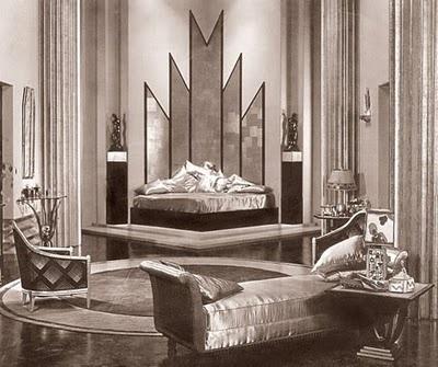 Art Deco Era: Art Nouveau, The Kiss, Art Deco Bedroom, Deco Bedrooms, Visual Art, Art Deco Interiors, Design Elements, Artdeco, Design Style