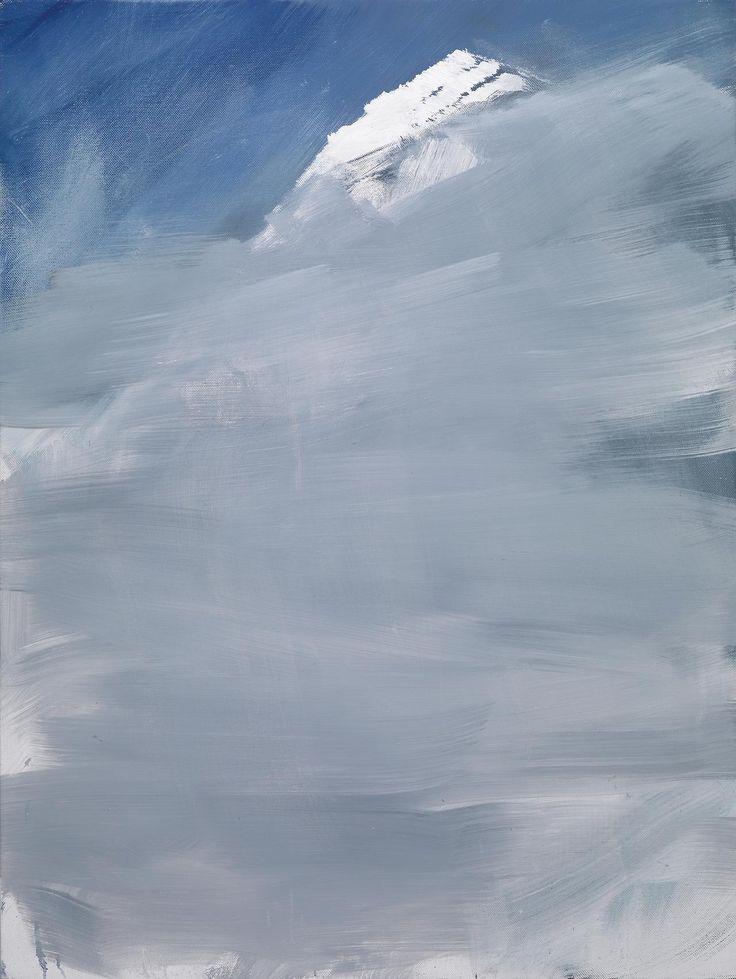 blastedheath: Herbert Brandl (Austrian, b. 1959), Untitled, 2009. Oil on canvas, 120 x 90 cm.