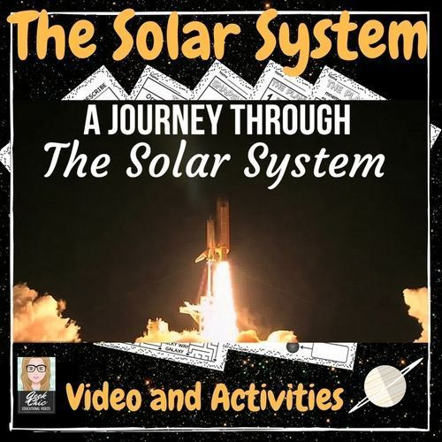 Take a visual journey with your students through the solar system while becoming familiar with the planets (order, relative size, and more fun facts) Included in this bundle-  A 3 minute HD QUALITY video  A Powerpoint presentation of the video slides