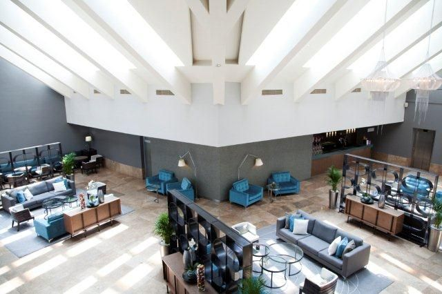 Lagoon Beach Hotel Lobby