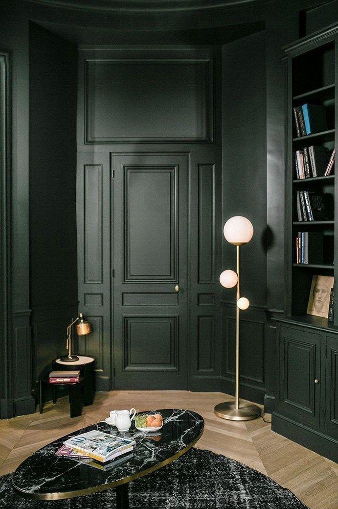 25 Elegant Dark Living Room Design Ideas 00011 Dark Living Rooms Interior House Interior