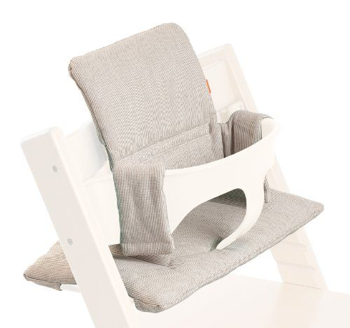 Stokke - Coussin pour chaise TRIPP TRAPP reflet gris
