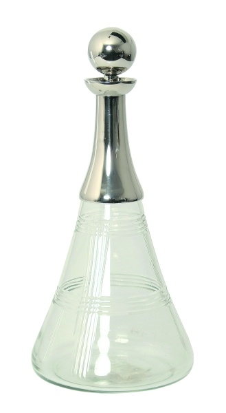 Decanter, Piazza Collection.
