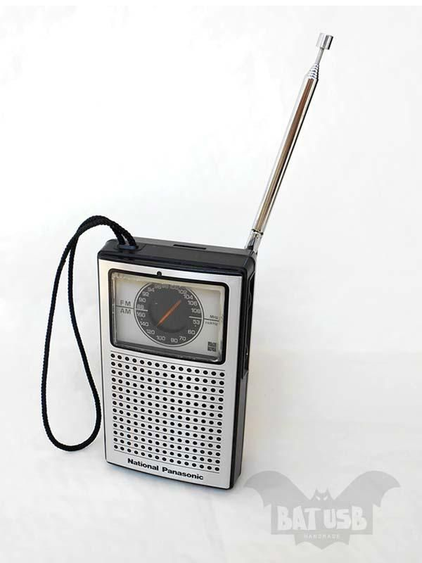 BAT Old-School Radio External Hard Drive