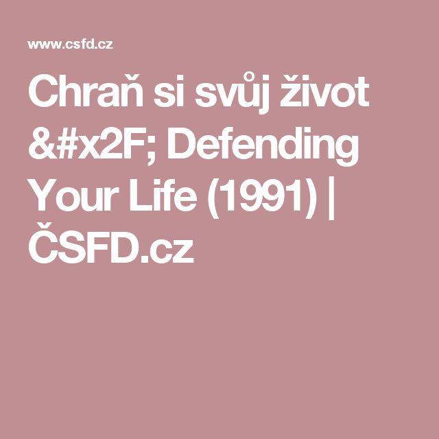 Chraň si svůj život / Defending Your Life (1991) | ČSFD.cz