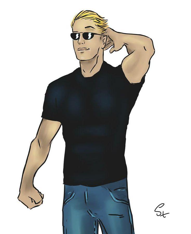 Carson Clark caricature (photo: Lukasz Stanek) #caricature #art #volleyball #usavolleyball