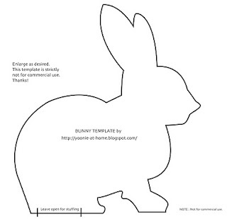 mooi patroontje voor konijn