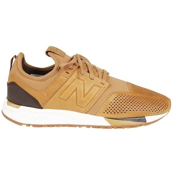 New Balance New Balance 247 Sneakers (150 SGD) ❤ liked on Polyvore featuring shoes, sneakers, marrone, new balance sneakers, new balance trainers, new balance footwear, new balance and new balance shoes