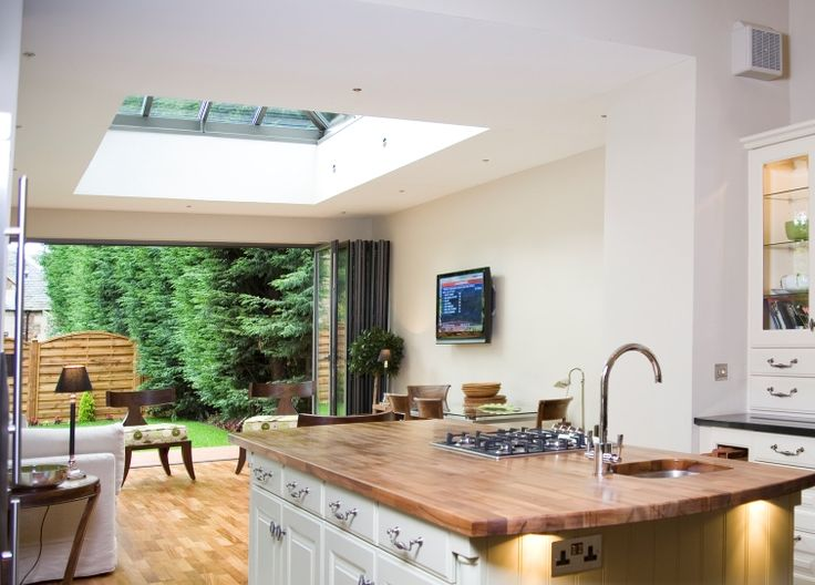 extension with roof light