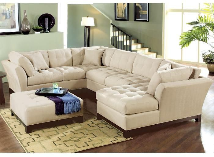 I want this sofa (Cindy Crawford Home Metropolis in Taupe)