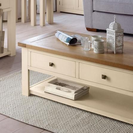 Henley Cream Coffee Table Dunelm Forever Home Board - Cream And Oak Coffee Table CoffeTable