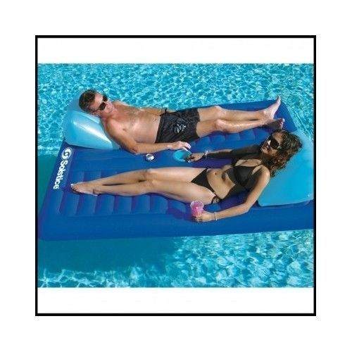 Floating-Pool-Lounger-Inflatable-Mattress-Beach-Chair-Sleeping-Ice-Drink-Holder
